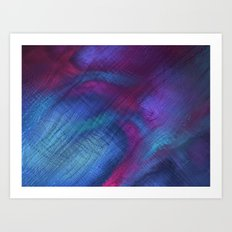 The Blues Are Back Art Print