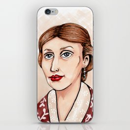 Virginia Woolf iPhone Skin