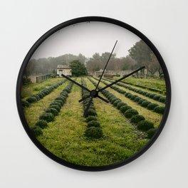 Van Gogh's View  Wall Clock