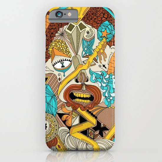 The drawing that accompanies the sound. iPhone & iPod Case