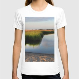 Watercolor People in Nature, BS, Children 03, Janes Island, Maryland T-shirt