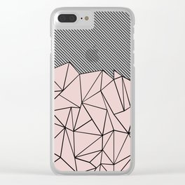 Ab Lines 45 Dogwood Clear iPhone Case