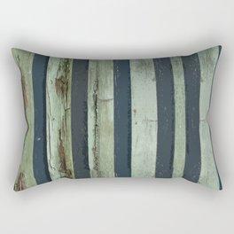 Stripped Green Lines Rectangular Pillow