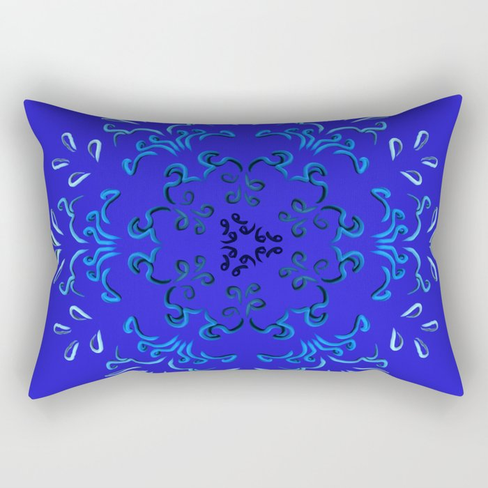 """""""Hakakā a hohonu"""" (lucha profunda) Rectangular Pillow"""
