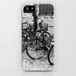Bike parking only iPhone Case