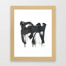 EXTRA large Mark Making Framed Art Print
