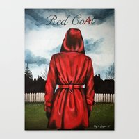 """pretty little liars Canvas Prints featuring Pretty Little Liars - """"Red Coat"""" 