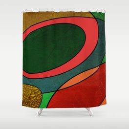 Abstract #325 Shower Curtain