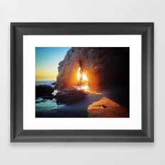 Eyelet Framed Art Print