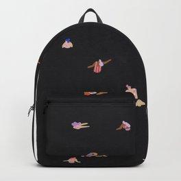 Black night dip Backpack