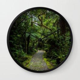 Jungle Path Wall Clock