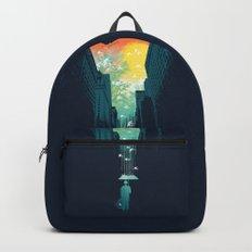 I Want My Blue Sky Backpacks