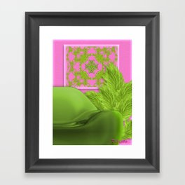 Relaxing corner Framed Art Print