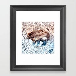 Beargard (Terra Indigene) Framed Art Print