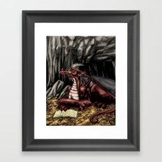 The Dragon's Cave Framed Art Print