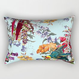 Floral and Birds XXXIV Rectangular Pillow