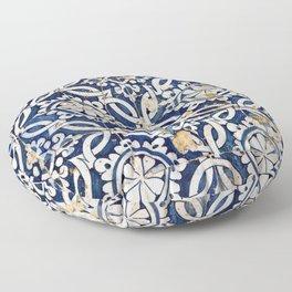 Portuguese glazed tiles Floor Pillow