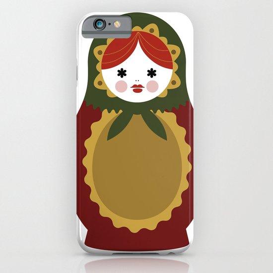 Matrioska-007 iPhone & iPod Case