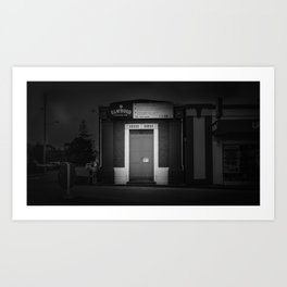 The Christchurch Electricity Substation Project XIII Art Print