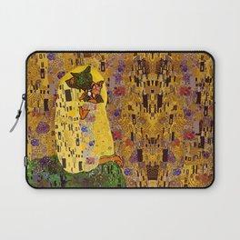 Kiss Klimt Cats Laptop Sleeve