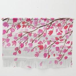 Rain of Cherry Blossom Wall Hanging