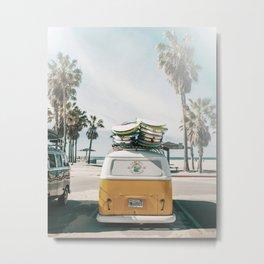 Summer Van Metal Print