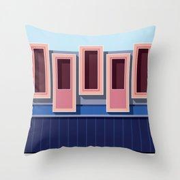 Muralla Roja 02 Throw Pillow
