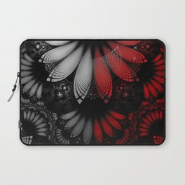 Shikoba Fractal -- Beautiful Feathers of the Vampire Laptop Sleeve