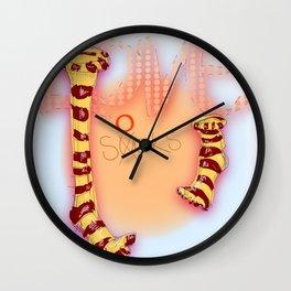 love socks Wall Clock