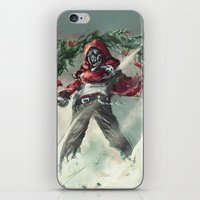 anarchy iPhone & iPod Skins featuring Anarchy by gravitybeams