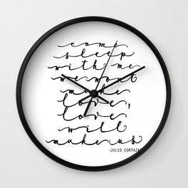 Cortazar, Love will... Wall Clock