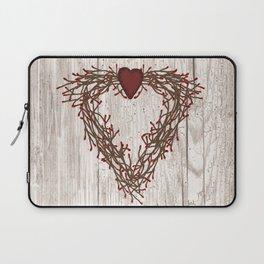 Pip Berry Heart Wreath Laptop Sleeve