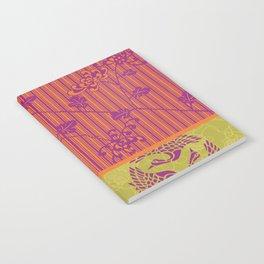 Chrysanthemums & Cranes Notebook