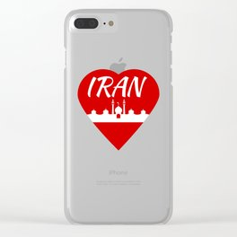 Iran Clear iPhone Case