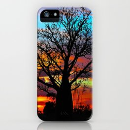 Candy Coloured Boab iPhone Case