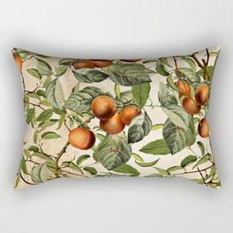 Vintage Fruit Pattern Rectangular Pillow