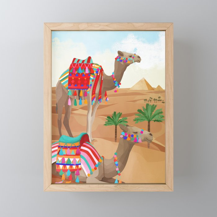 Desert Adventure Framed Mini Art Print