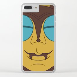 Buzz Off Clear iPhone Case