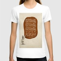 kendrick lamar T-shirts featuring Kendrick Lamar; What Rappers Say Series 7/8 by Jaron Lionel