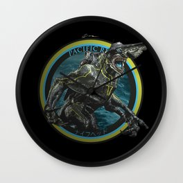 Knifehead - Pacific Rim Wall Clock