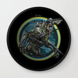 Knifehead - Pacific Rim Wall Clock