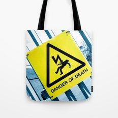Danger of Death #3 | Press PLAY To Die Tote Bag