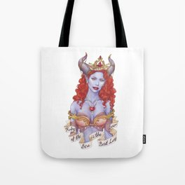 Ruby of the Sea Tote Bag
