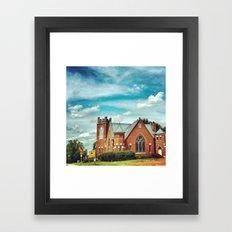 Church of Vintage Beauty  Framed Art Print