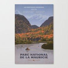 Parc National de le Mauricie Canvas Print