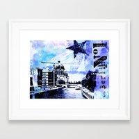berlin Framed Art Prints featuring Berlin  by LebensART