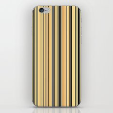 High Society Vintage Rustic Glam Stripes 001 iPhone & iPod Skin