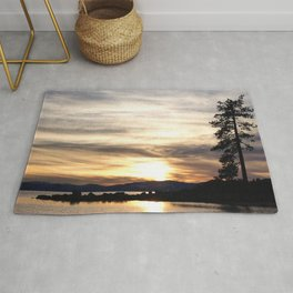 Lake Tahoe Sunset Rug