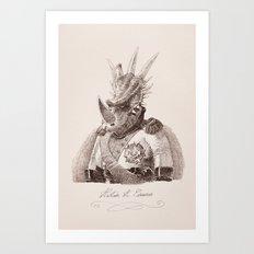 Alastair A. Cosaurus Art Print