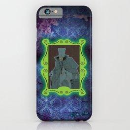Happy Haunts - Hatbox Ghost iPhone Case